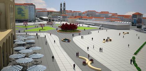 Así quedaría Gezi según el proyecto presentado por el gobierno turco.| E. M.