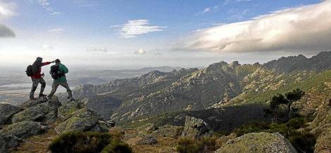 Imagen de un paraje de la Sierra de Guadarrama