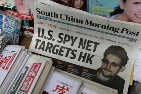 Portada del periódico 'South China Morning Post', con sede en Hong Kong. | Reuters