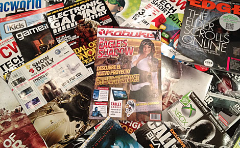 Kabukis, la revista, se repartió en el pasado E3 para conseguir más acreditaciones.