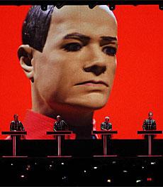 Imagen del concierto de Kraftwerk en el Sónar