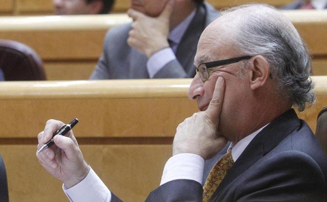 El ministro de Hacienda, Cristobal Montoro. | José Aymá