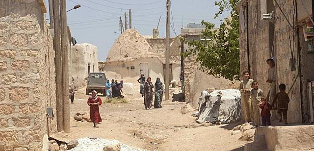 aldea al sur de Alepo