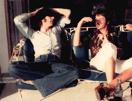 La visita de McCartney a Lennon en Nueva York, en 1974. | JR