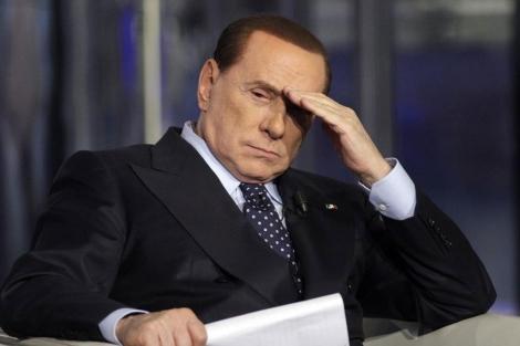 Berlusconi en una entrevista en la RAI el pasado mes de mayo. | Reuters