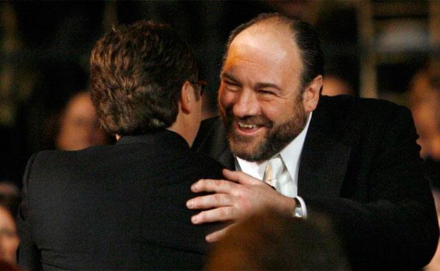 El actor James Gandolfini.