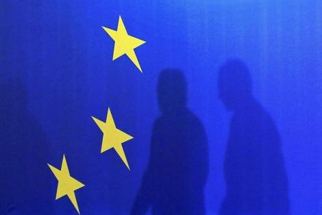 Bandera de la Unión Europea.   Efe, Robert Ghement