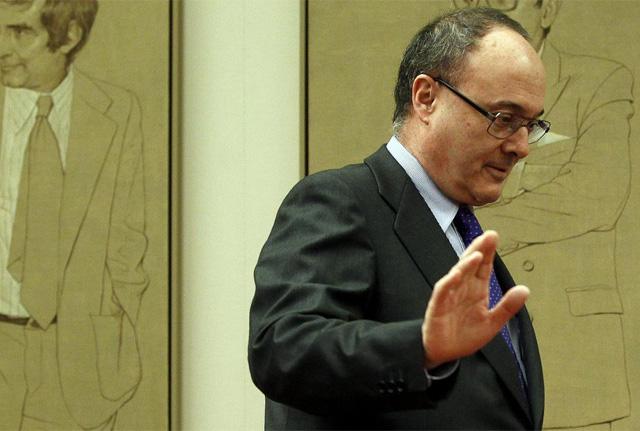El gobernador del Banco de España, Luis María Linde. | Javier Barbancho