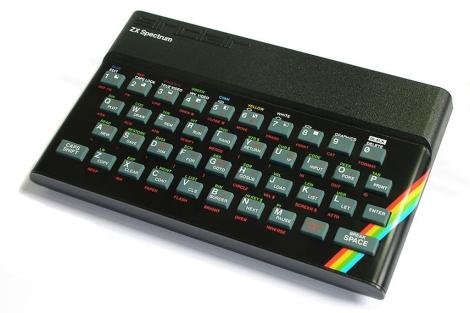 Modelo ZX Spectrum de 48k.