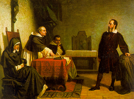 Galileo ante la Inquisición romana. | E.M.