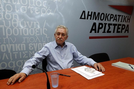 Fotis Kouveles, líder del partido de la izquierda moderada griega, Dimar. | Efe