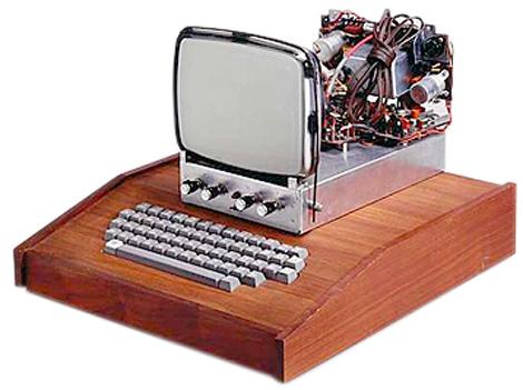 c8cdc3bad75 Christie's subasta un 'Apple I', el primer ordenador fabricado por ...