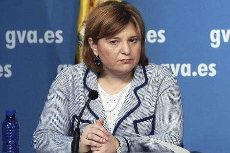 La consellera de Medio Ambiente, Isabel Bonig.   Efe