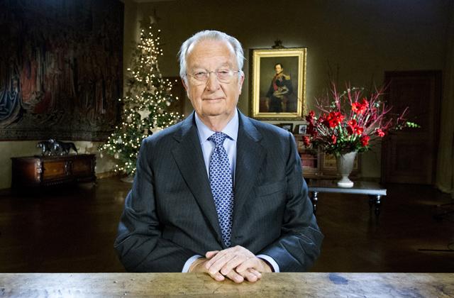 Alberto II en el mensaje de Navidad de 2012. | Gtres