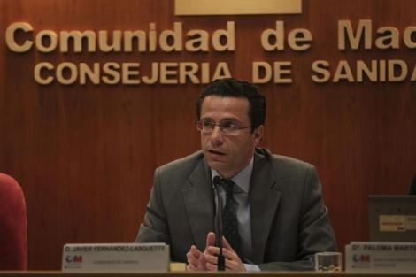El consejero de Sanidad madrileño, en rueda de prensa. | Paco Toledo