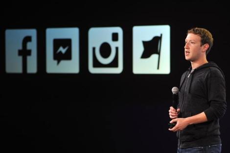 El fundador de la red social, en una presentación reciente | Afp