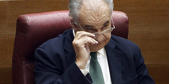 El diputado Rafael Blasco, en las Cortes Valencianas.   José Cuéllar