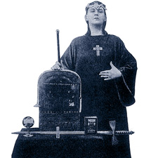 Aleister Crowley.