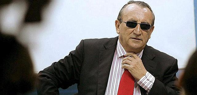 Carlos Fabra, ex presidente de la Diputación de Castellón. | E. T.