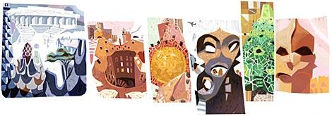 'Doodle' de Antoni Gaudí
