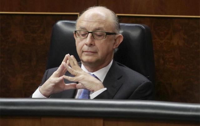 El ministro de Hacienda, Cristóbal Montoro. | José Aymá