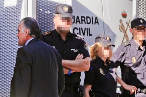 Bárcenas a su llegada a la Audiencia Nacional. | Javier Barbancho