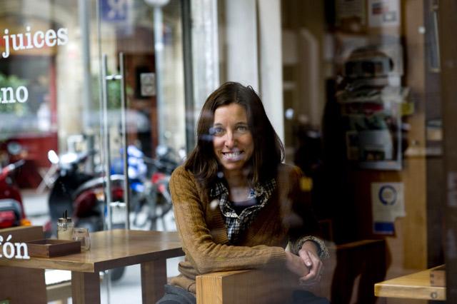 La escritora mallorquina Llucia Ramis. | Santi Cogolludo