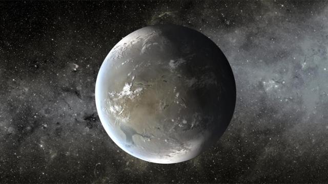 Recreación artística de un planeta extrasolar.   NASA