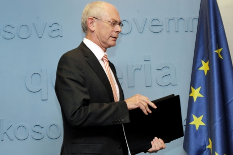 Presidente del Consejo Europeo, Van Rompuy. | Armend Nimani