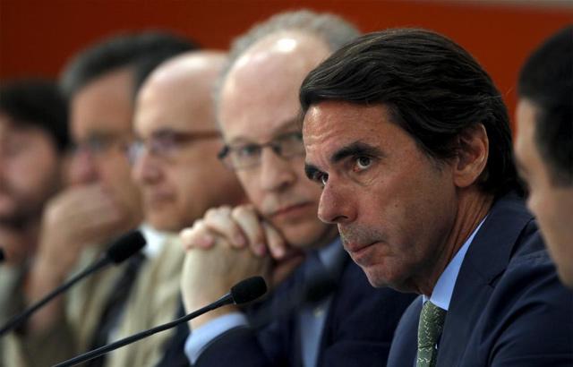 El presidente de Faes, José María Aznar. | Javier Barbancho