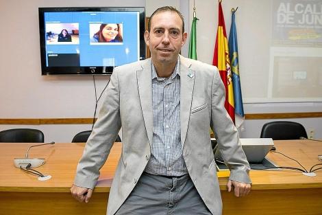 El alcalde de Jun (Granada), José Antonio Rodríguez Salas.   Jesús G. Hinchado
