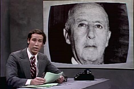 'El Generalísimo Francisco Franco todavía está muerto', proyección de Reuben Moss.