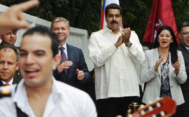 Nicolás Maduro en Moscú. | Foto: Reuters