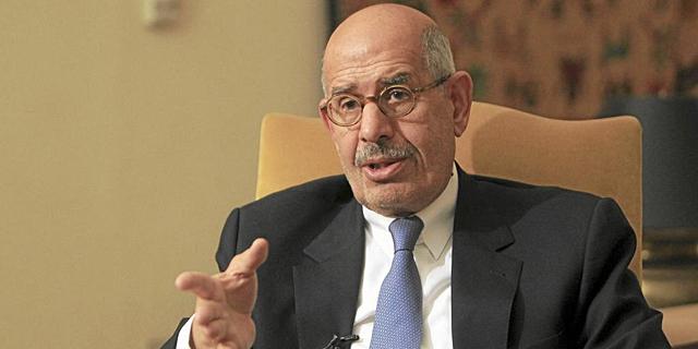 Mohamed el Baradei.   Reuters