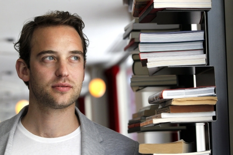 El escritor suizo Joël Dicker. | Efe