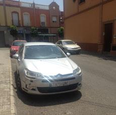 El coche oficial de Antonio Casimiro Gavira.