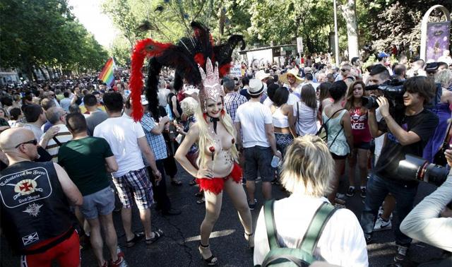 Desfile del Orgullo Gay en Madrid. | Carlos Barajas