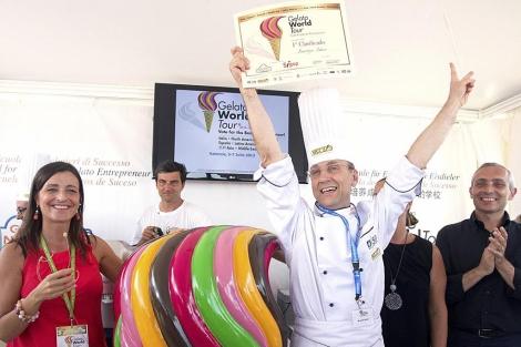 Maurizio Milani, ganador de la fase española del concurso | Benito Pajares
