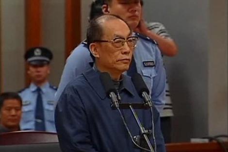 El ex ministro de Ferrocarriles, Liu Zhijun, en una vista del juicio ln pasado junio.| Reuters