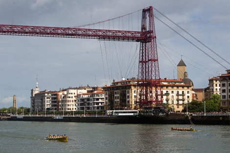 Imagen del Puente de Bizkaia. | E.M.