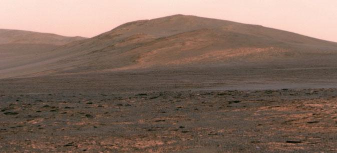 Imagen del Punto Solander captada por 'Opportunity' el 1 de junio.  NASA/JPL-Caltech/Cornell Univ./Arizona State Univ