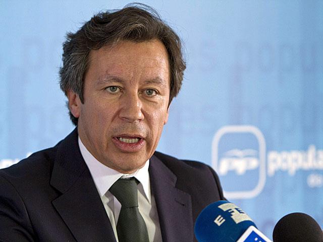 Carlos Floriano, durante su intervención en Jerez de la Frontera. | Román Ríos / Efe