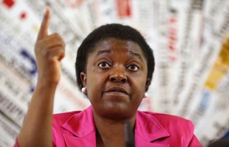 La ministra de Integración, Cecile Kyenge. | Reuters