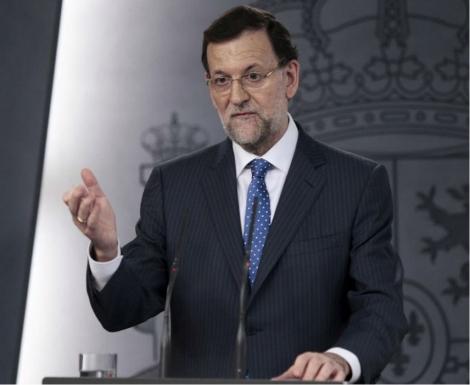 El presidente del Gobierno durante la rueda de prensa. | Foto: Antonio Heredia