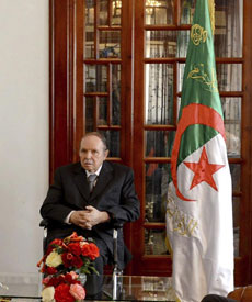 El presidente, Abdelaziz Buteflika.| Efe