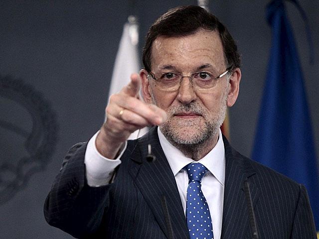 Mariano Rajoy, en rueda de prensa el pasado lunes. | Antonio Heredia