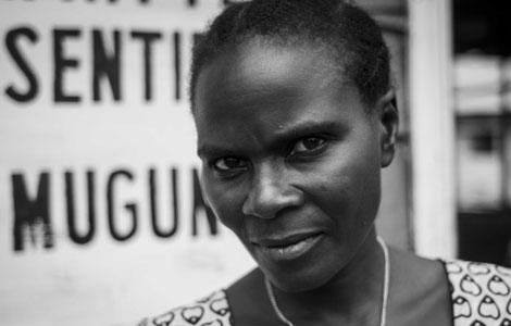 Charlie, madre de siete hijos, el último fruto de una violación múltiple. | Raquel Villaécija