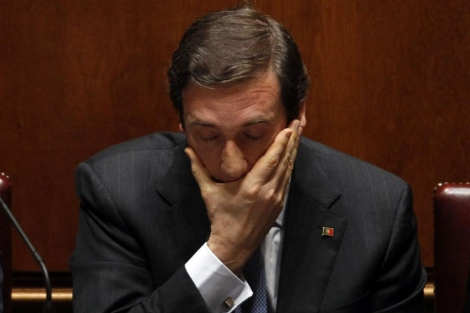 El primer ministro de Portugal, Pedro Passos Coelho.  Reuters