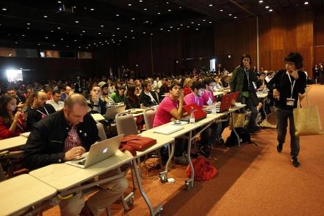 Participantes en la última edición de EBE, celebrada en Sevilla. | Jesús Morón