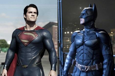 Superman y Batman en sus últimas películas.  W. Bross